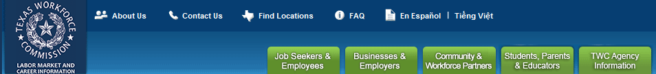 Texas Workforce Commission. Welcome, we're here to help. Resources, tips and tools to build a stronger Texas Workforce
